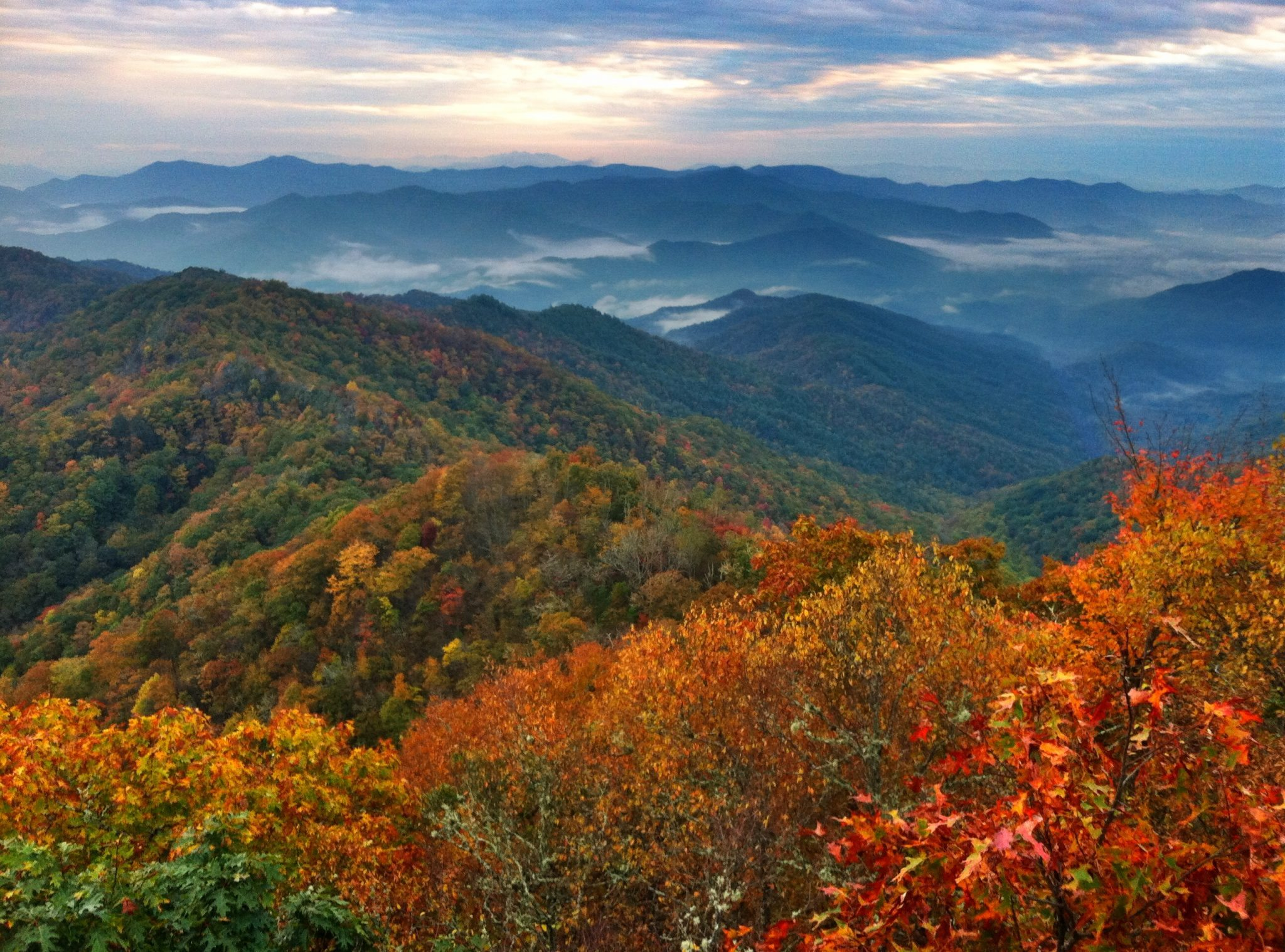 Top 5 Fall Lookout Spots Near Bryson City Yellow Rose Realty