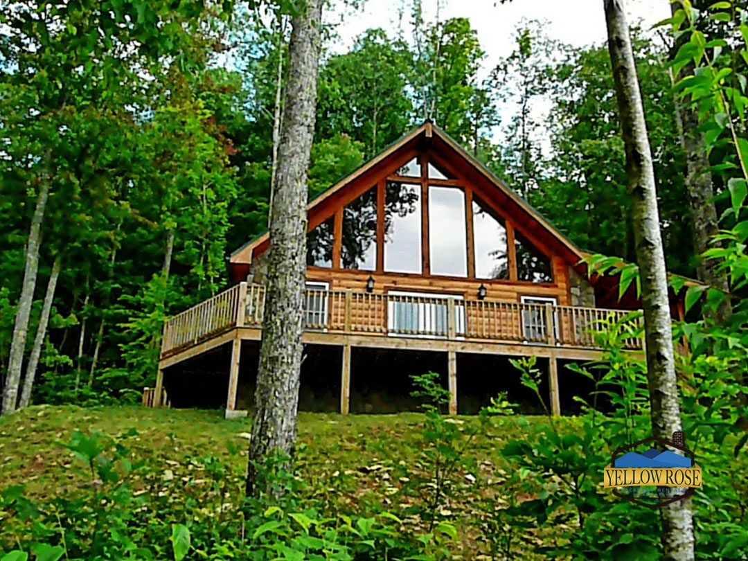 Yellow Rose Realty Bryson City Cabin Rental