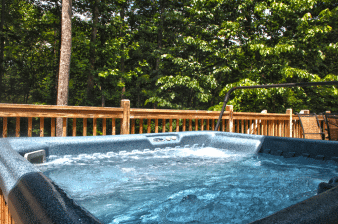 Bryson City Cabin Rentals Hot Tub