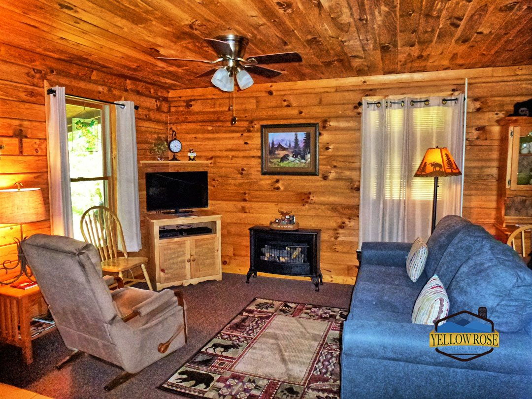 yellow rose realty bryson city cabin rental 1